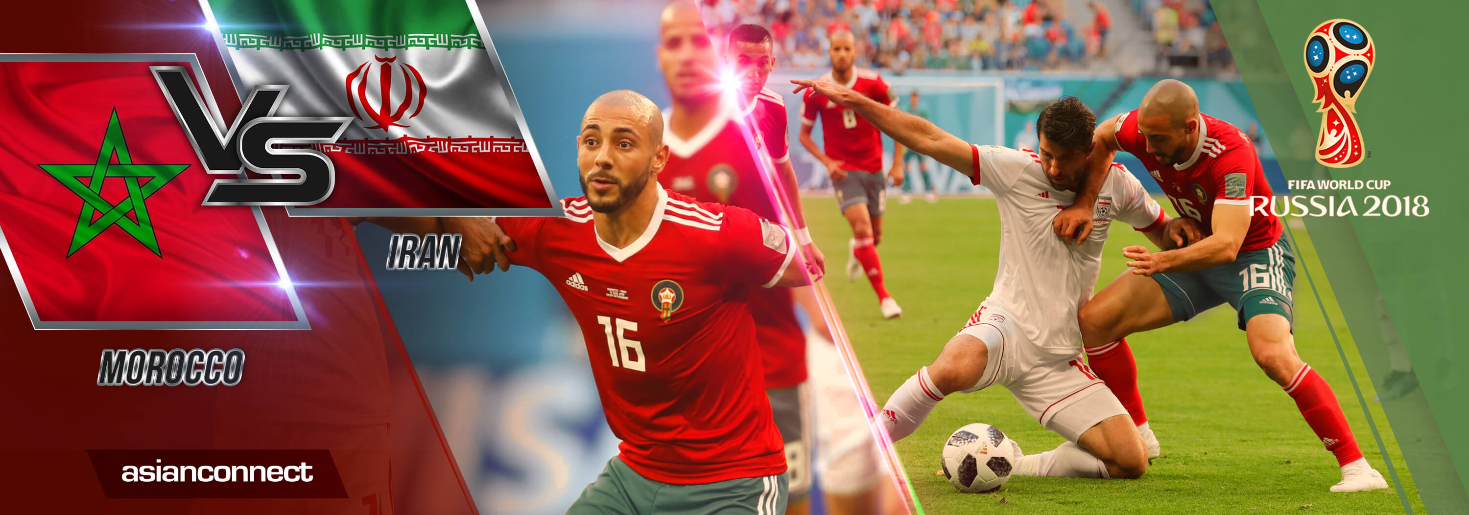 World Cup Morocco vs Iran