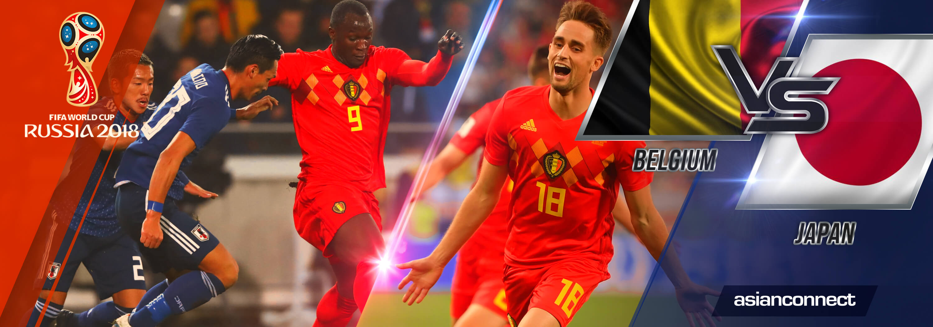 World Cup 2018 Belgium vs Japan