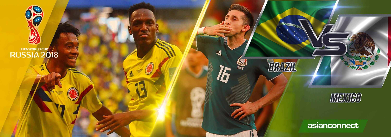 World Cup 2018 Brazil vs Mexico