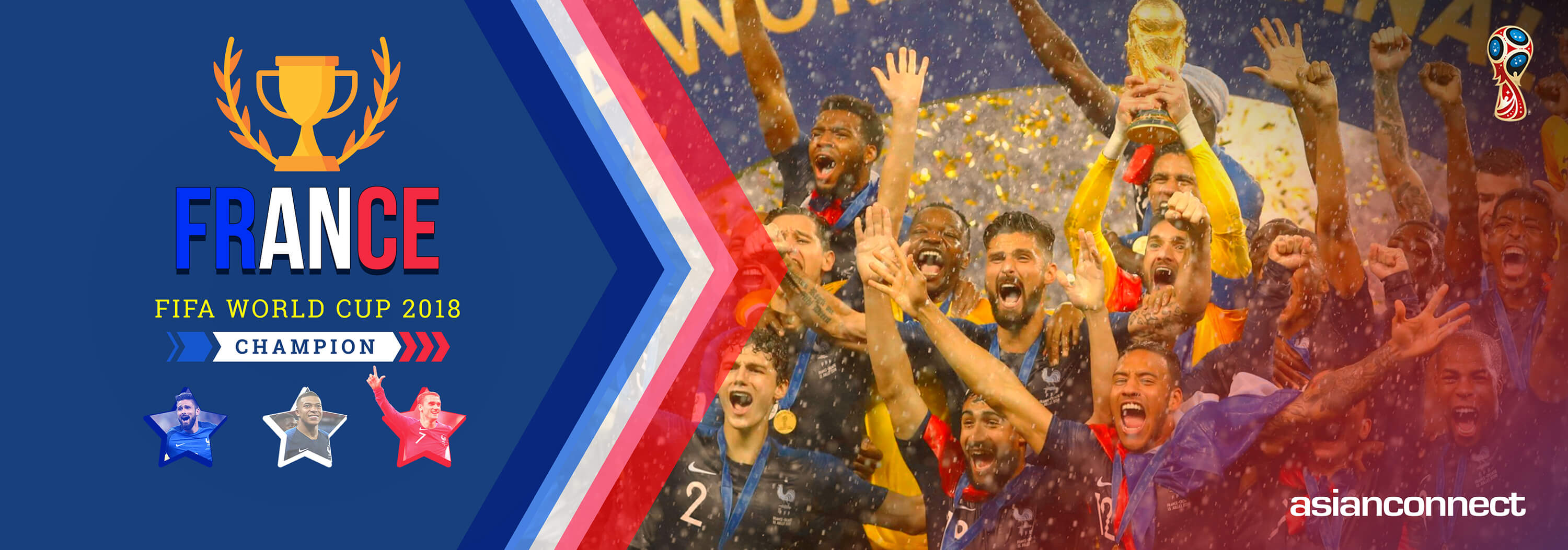 World Cup 2018 Champion France