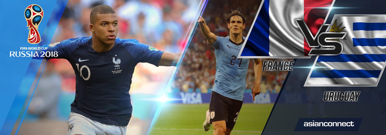 World Cup 2018 France vs Uruguay