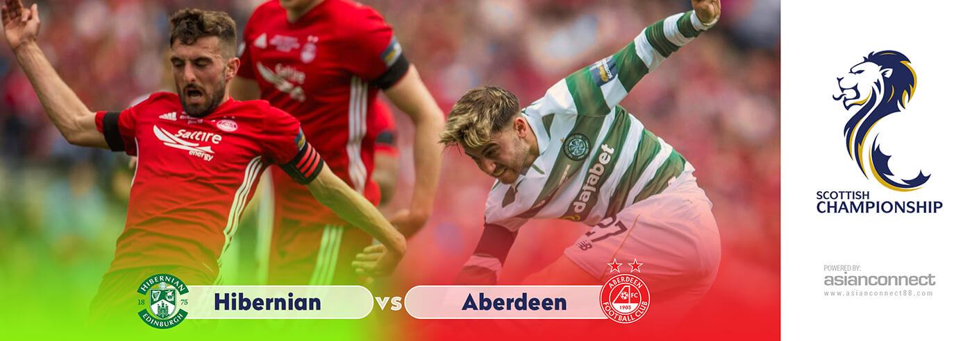 Hibernian vs Aberdeen AsianConnect