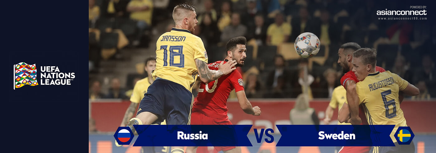 Russia vs Sweden AsianConnect