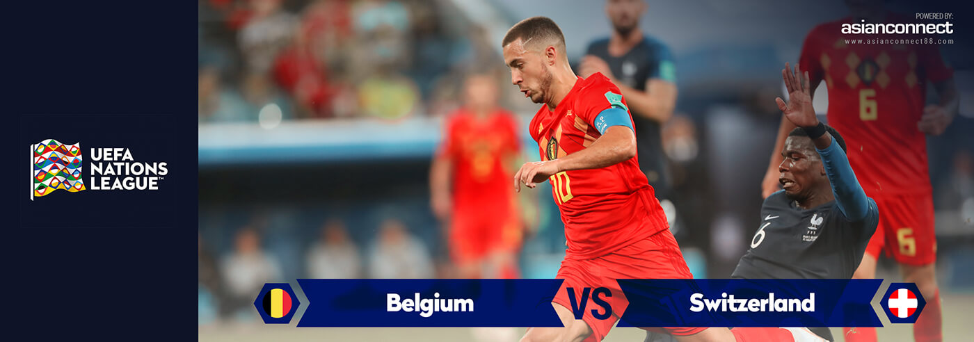 Belgium vs Switzerland AsianOdds