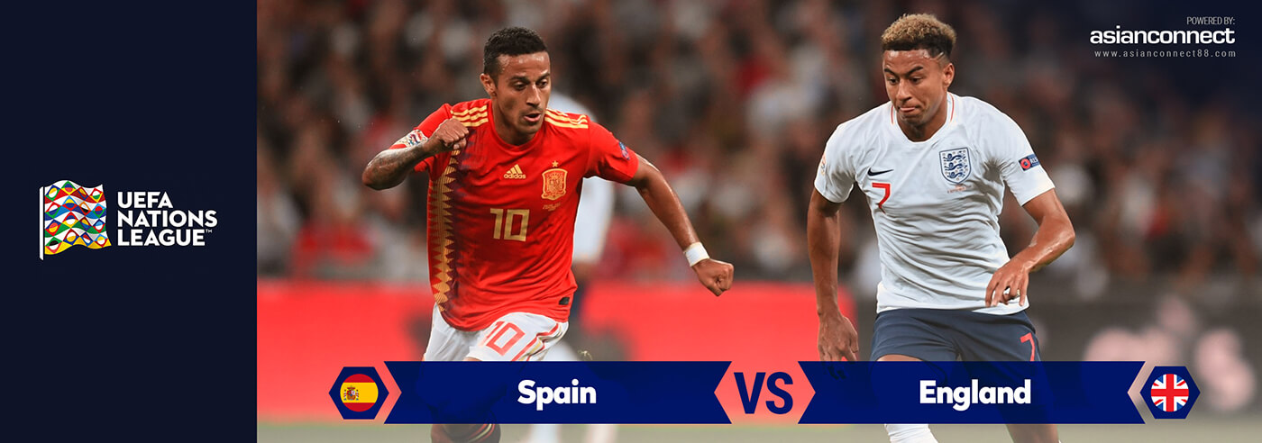 Spain vs England AsianConnect