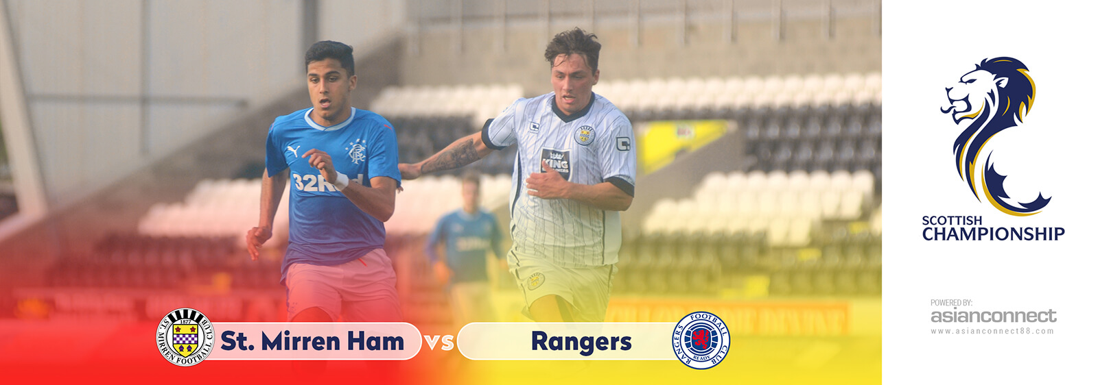 St Mirren vs Rangers AsianOdds