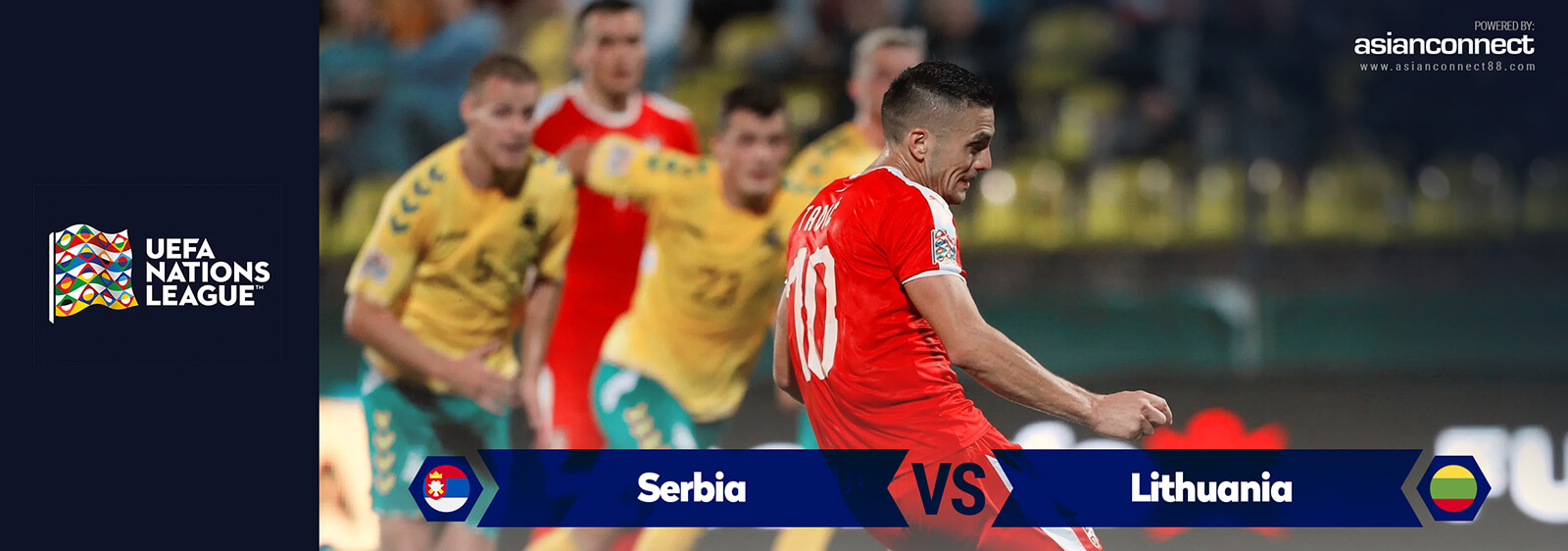 Serbia vs Lithuania AsianOdds