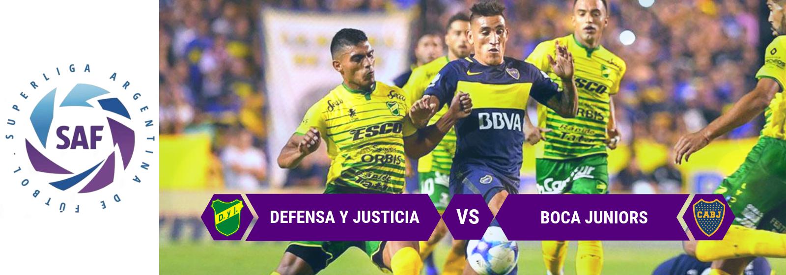 Argentina Primera Division Defensa y Justicia vs Boca Picks
