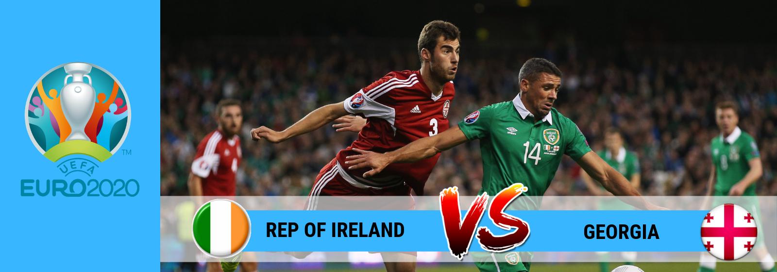 Rep of Ireland vs Georgia AsianConnect