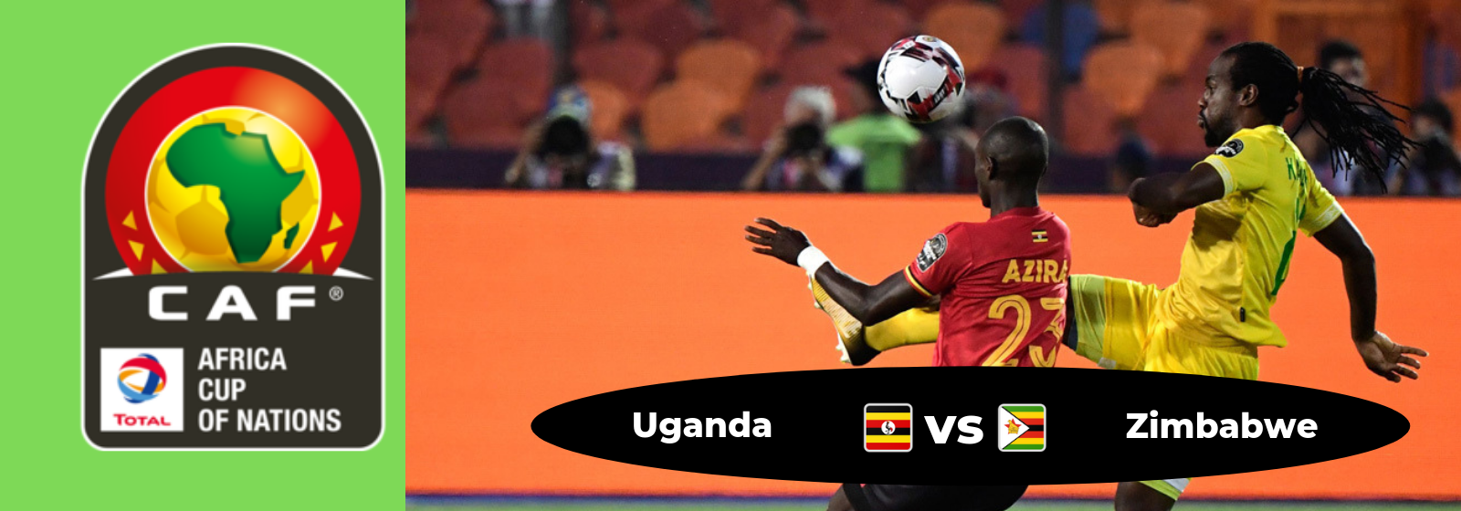 Africa Cup Of Nations Uganda Vs. Zimbabwe Asian Connect