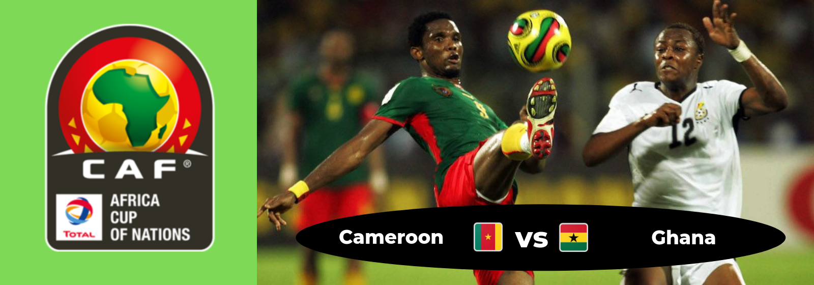 Africa Cup of Nations Cameroon Vs. Ghana Asian Connect