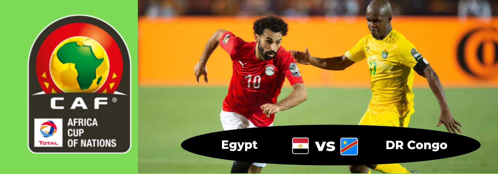 Africa Cup of Nations Egypt Vs. DR Congo Asian Connect