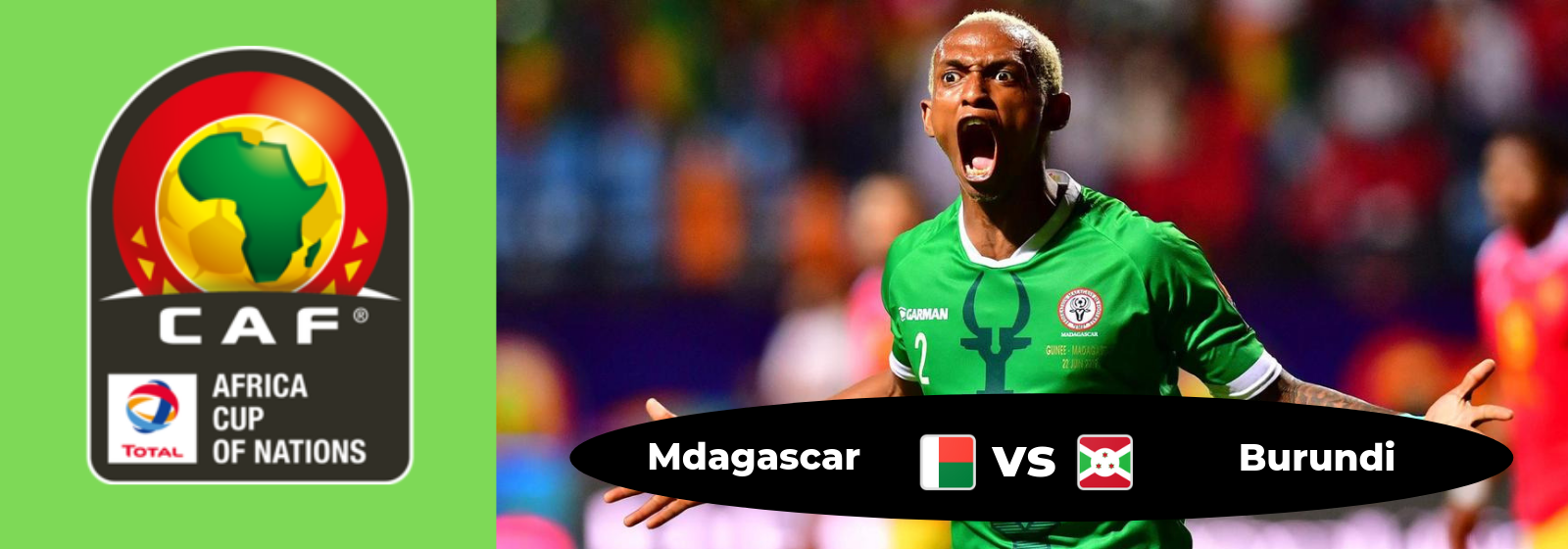 Africa Cup of Nations Madagascar Vs. Burundi Asian Connect