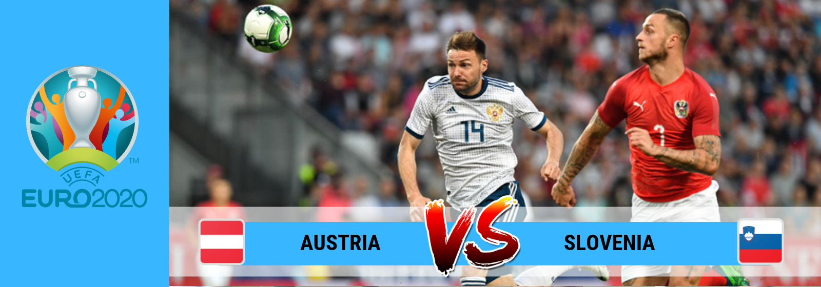 UEFA EUro 2020 Austria Vs Slovenia Asian Connect