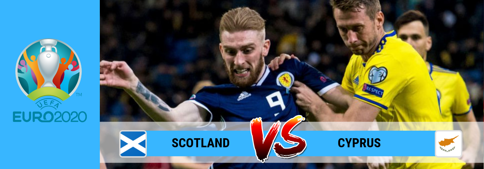 UEFA Euro 2020 Scotland vs Cyprus Asian Connect