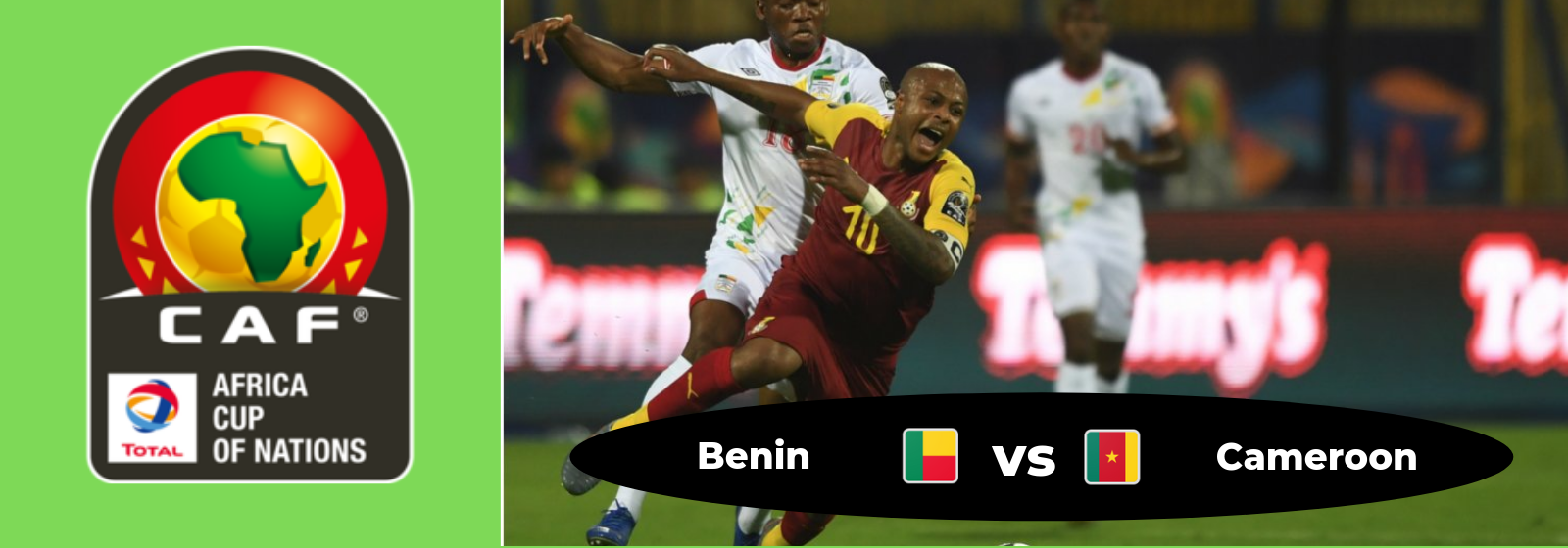 Africa Cup of Nations Benin Vs. Cameroon Asian Connect