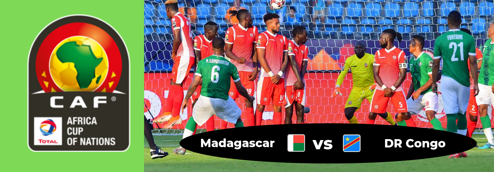 Africa Cup of Nations Madagascar Vs. DR Congo Asian Connect