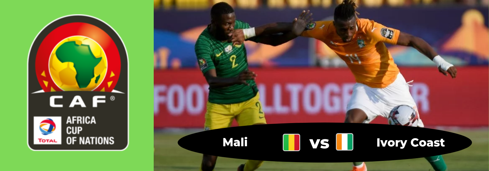 Africa Cup of Nations Mali Vs. Ivory Coast Asian Connect