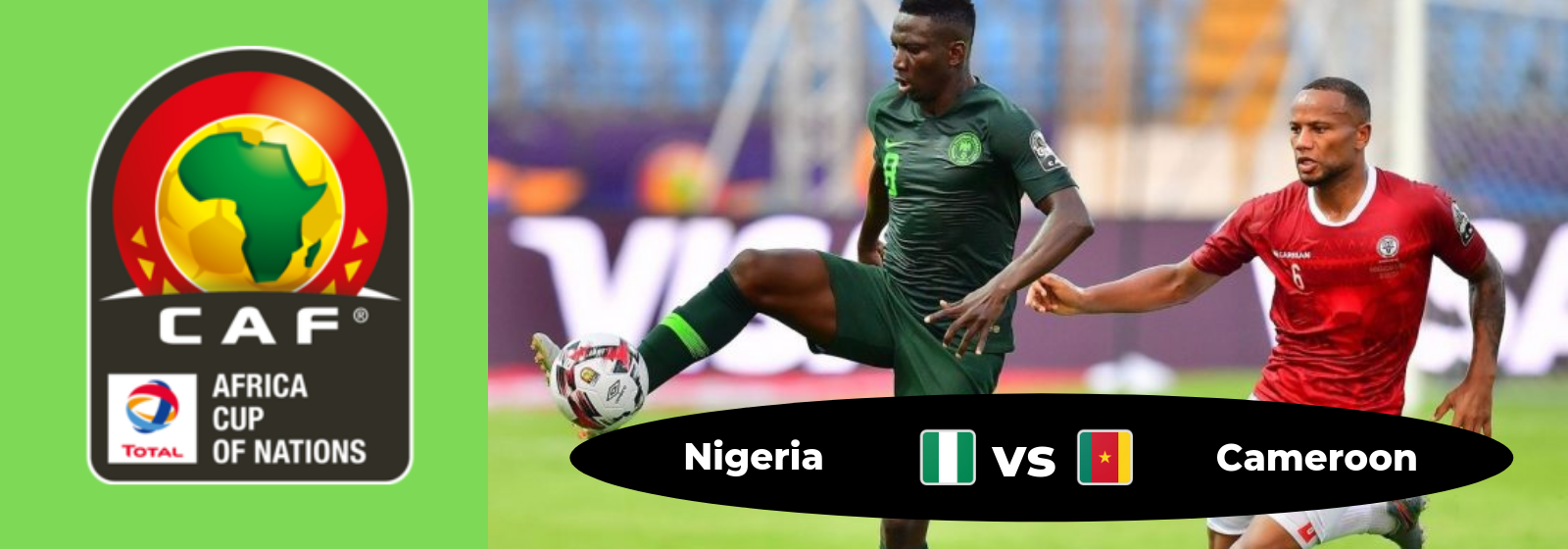 Africa Cup of Nations Nigeria Vs. Cameroon Asian Connect