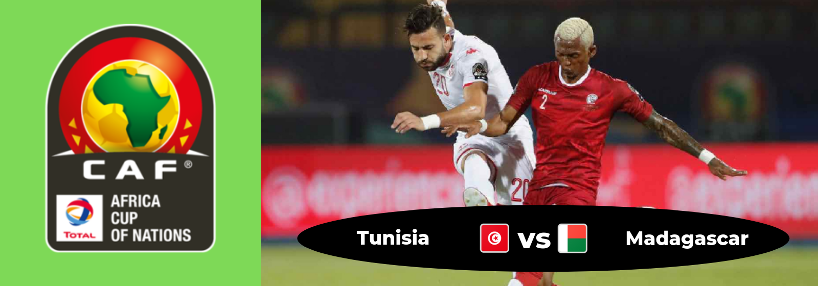 Africa Cup of Nations Tunisia Vs. Madagascar Asian Connect