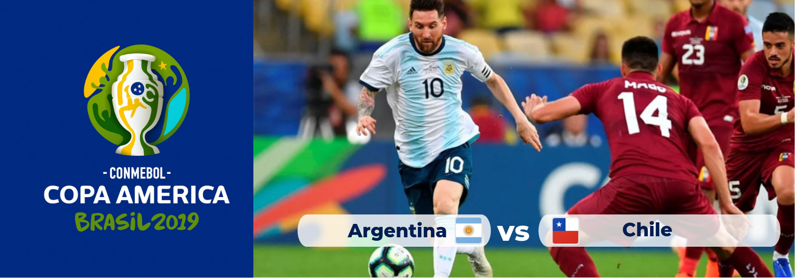 Copa America Argentina Vs. Chile Asian Connect