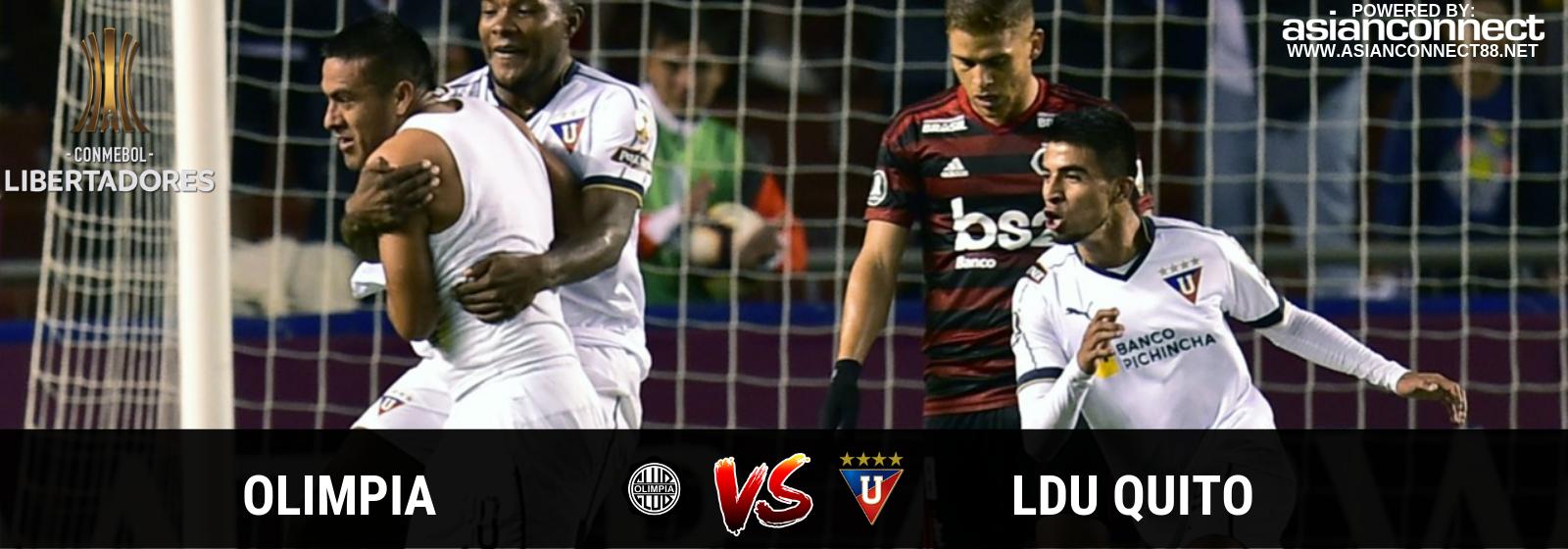 Copa Libertadores Olimpia Vs. LDU Quito Asian Connect