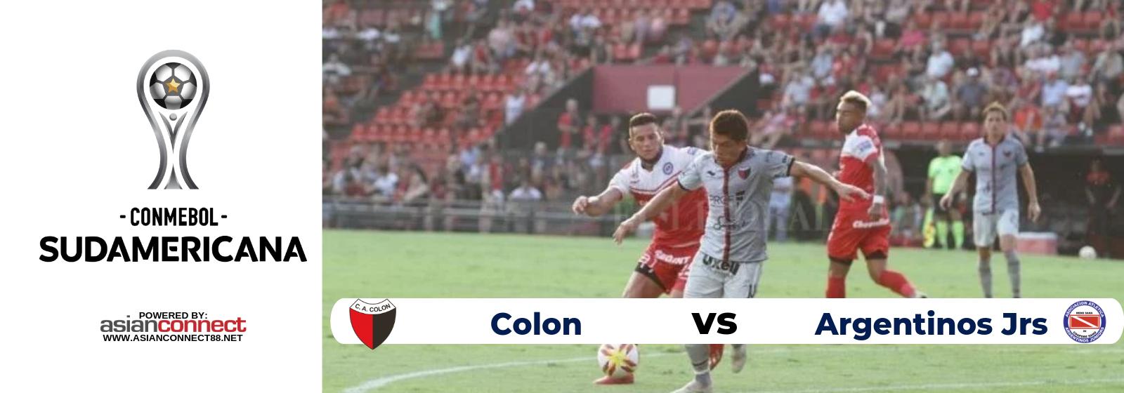 Copa Sudamericana Colon Vs. Argentinos Jrs Asian Connect