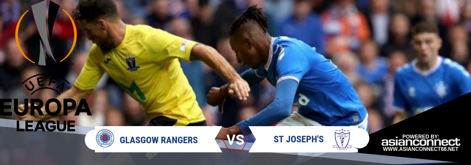 UEL Glasgow Rangers Vs. St Joseph's Asian Connect