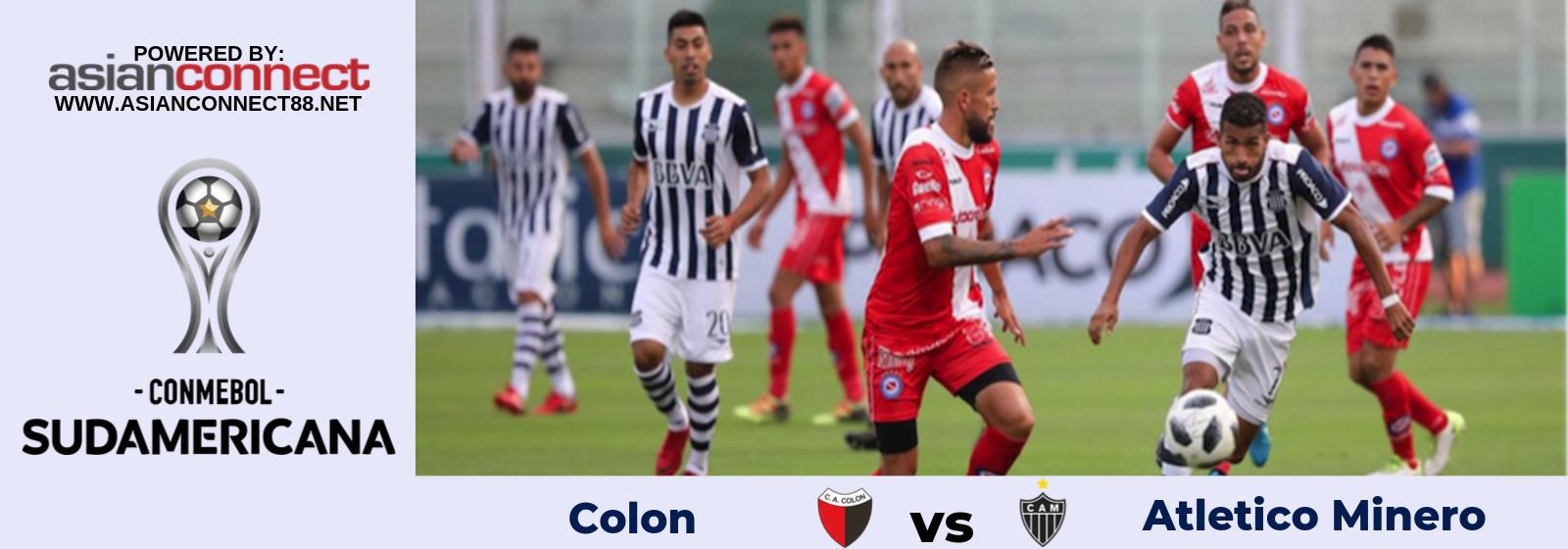 Copa Sudamericana Colon Vs. Atletico Minero Asian Connect
