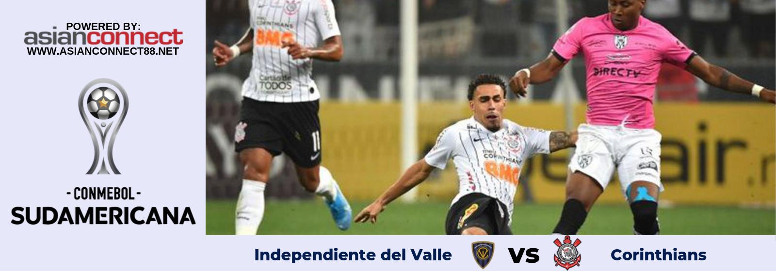 Copa Sudamericana Independiente del Valle Vs. Corinthians Asian Connect