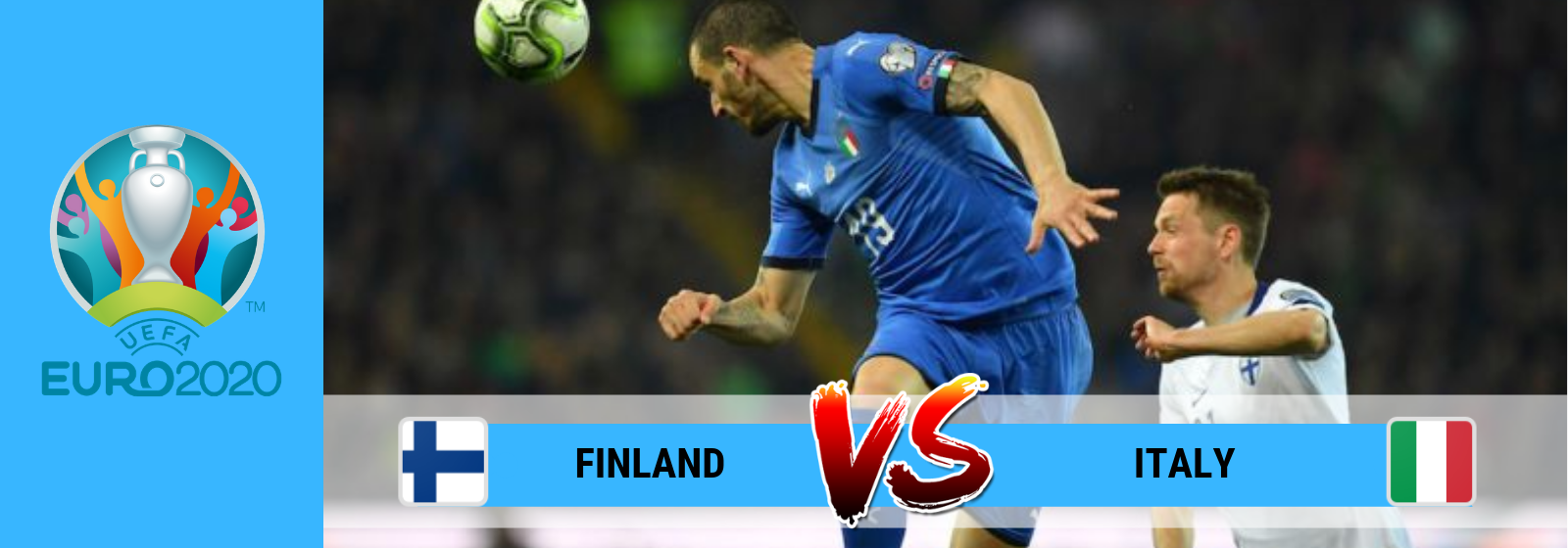 Euro 2020 Finland Vs. Italy Asian Connect