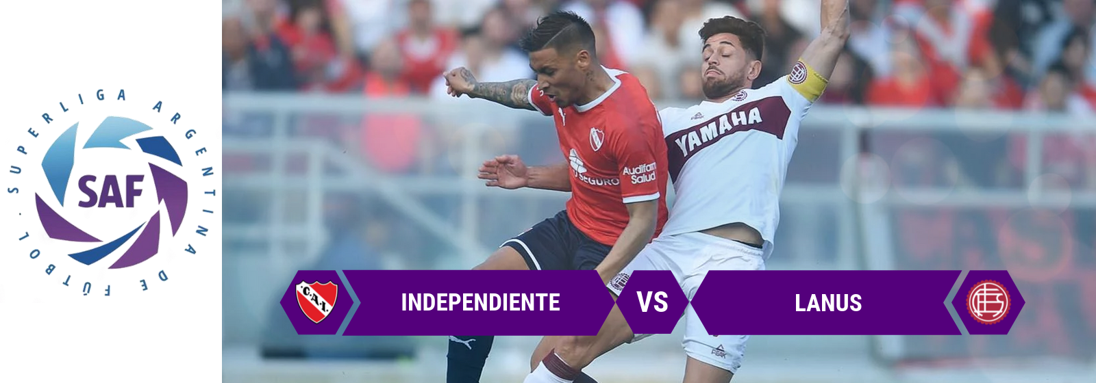 SAF Independiente Vs. Lanus Asian Connect