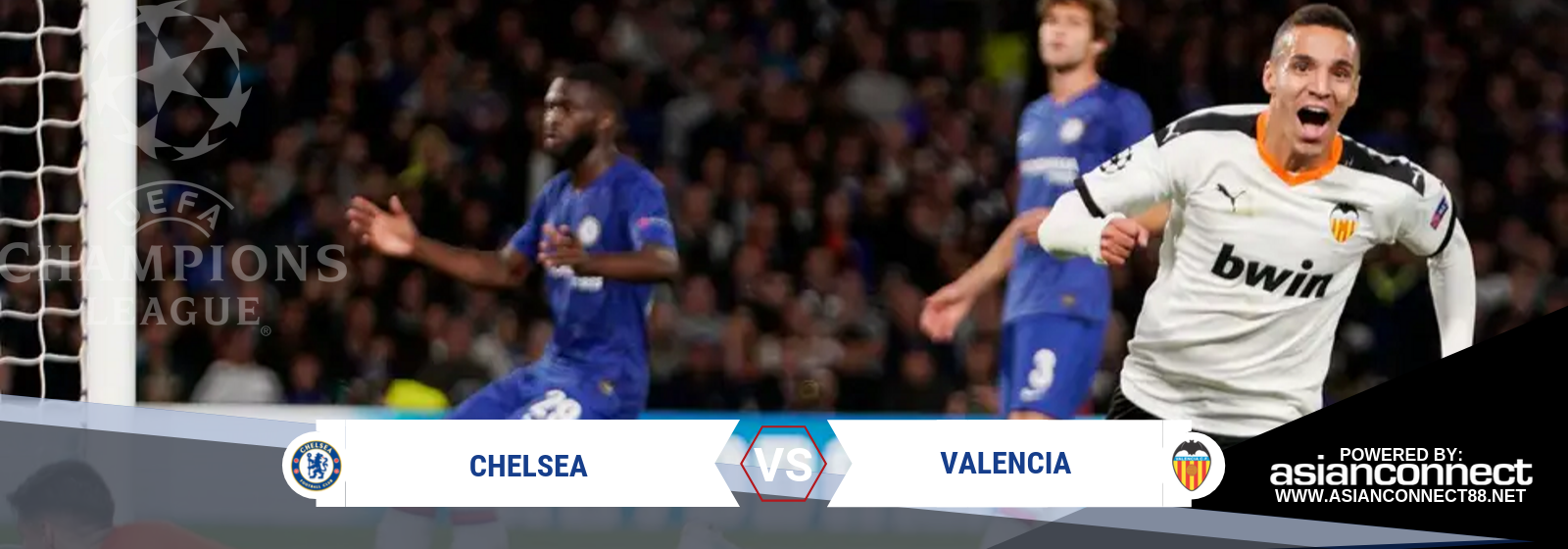 UCL Chelsea Vs. Valencia Asian Connect