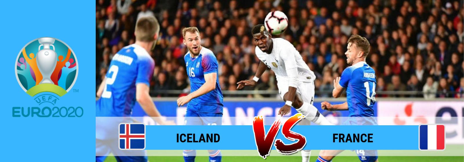 UEFA Euro 2020 Iceland Vs. France Asian Connect
