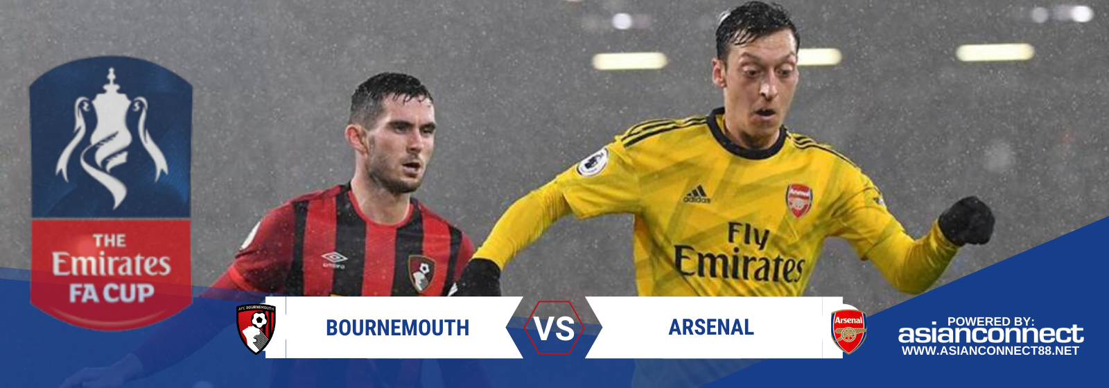 Asianconnect: Bournemouth vs Arsenal Odds for January 27, 2020