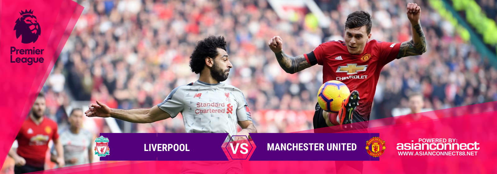 Asianconnect: Liverpool vs Manchester United Odds for January 19, 2020