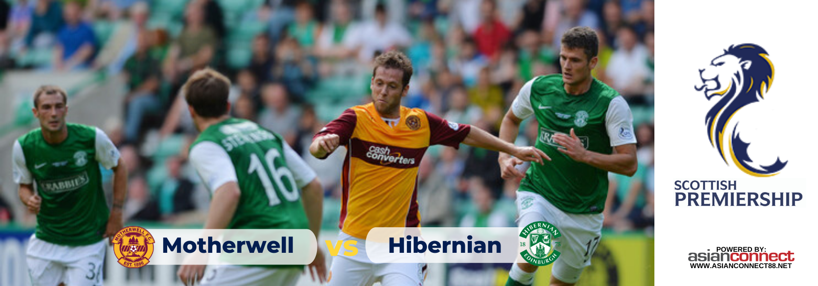 Asianconnect: Motherwell vs Hibernian Odds for January 25, 2020