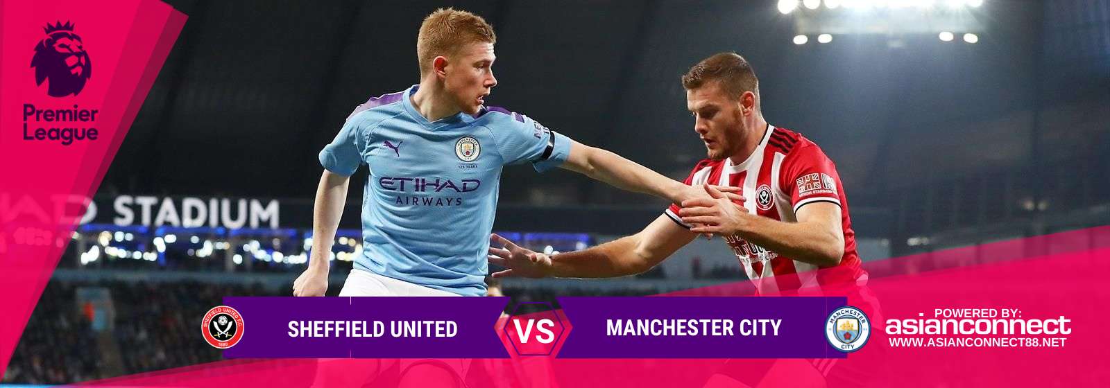 Asianconnect: Sheffield United vs Manchester City Odds for January 21, 2020