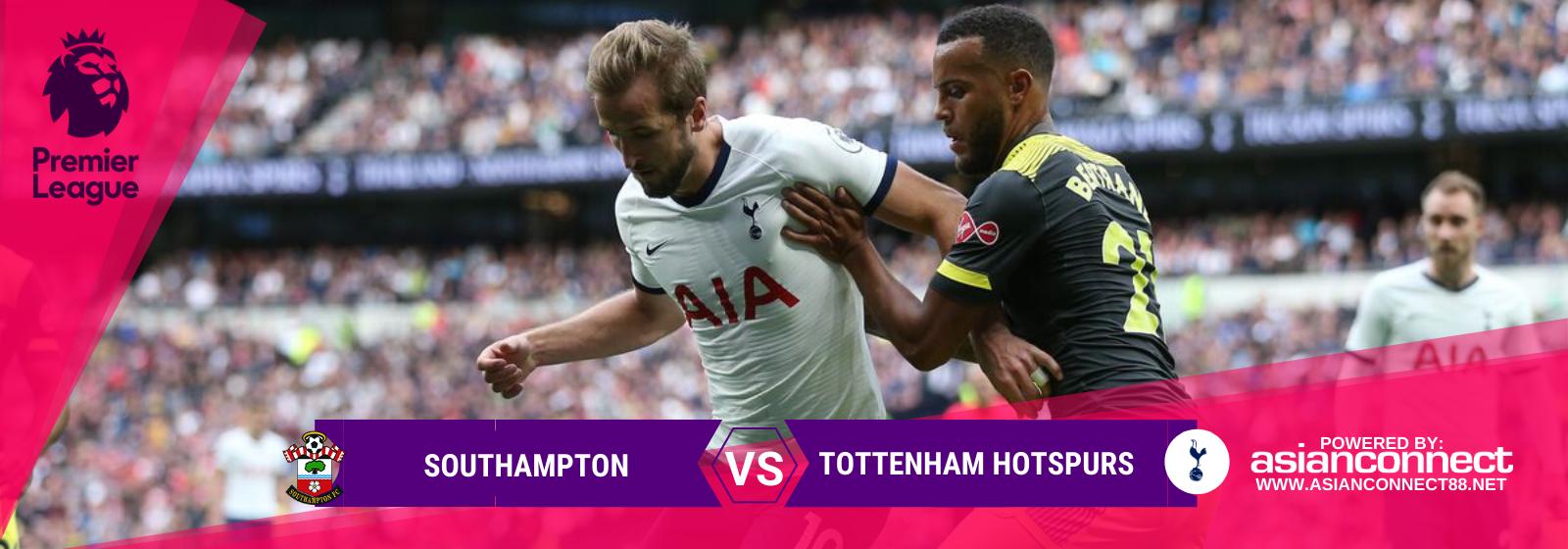 Asianconnect: Southampton vs Tottenham Hotspurs