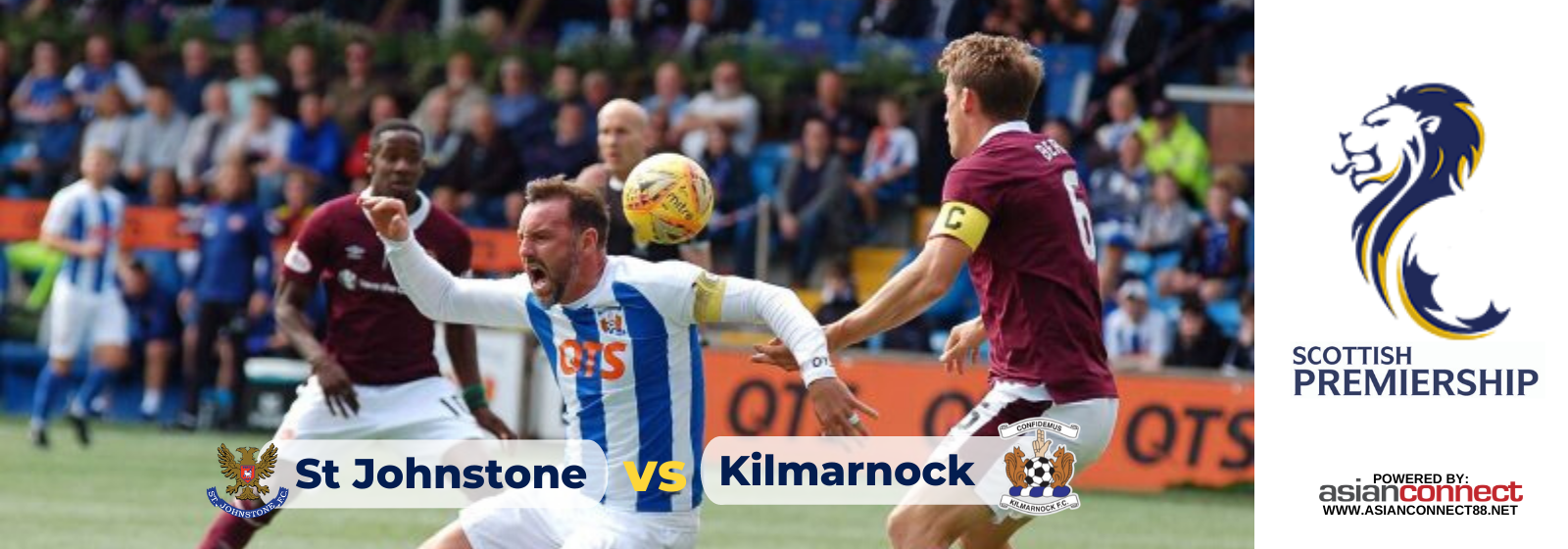 Asianconnect: St Johnstone vs Kilmarnock Odds for January 25, 2020