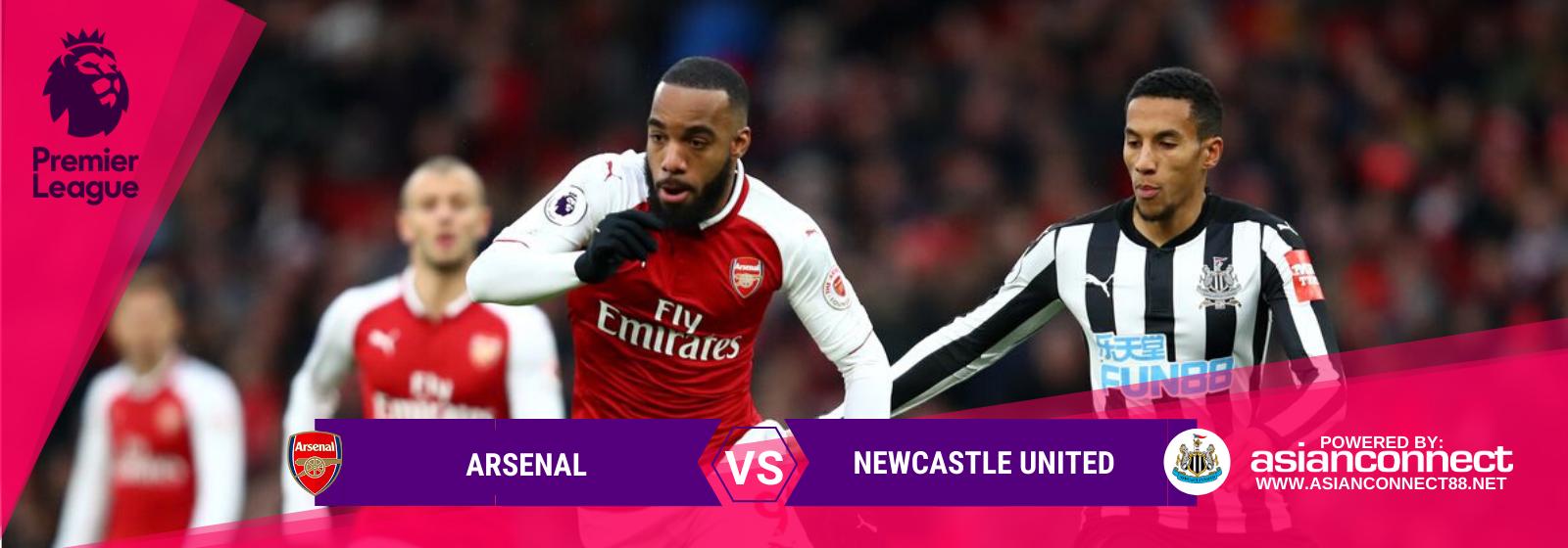 Asianconnect: Arsenal vs Newcastle Utd Odds for February 16, 2020