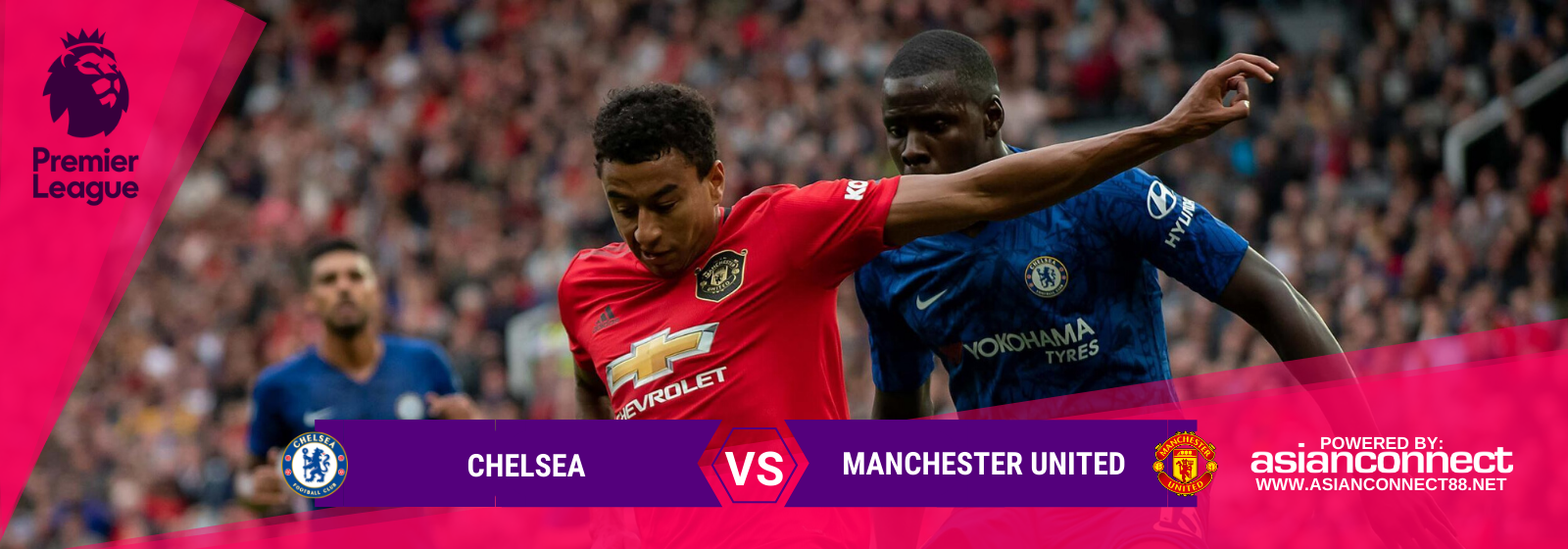 Asianconnect: Chelsea vs Manchester United Odds for February 17, 2020