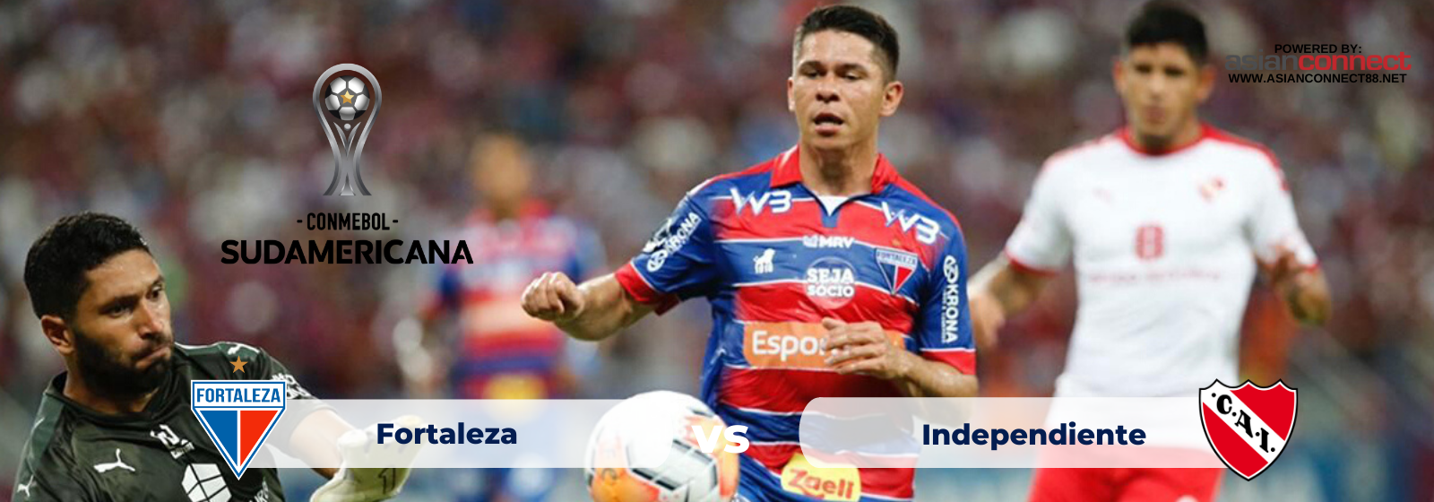 Asianodds: Fortaleza (Brazil) vs Independiente (Argentina) Odds for February 27, 2020