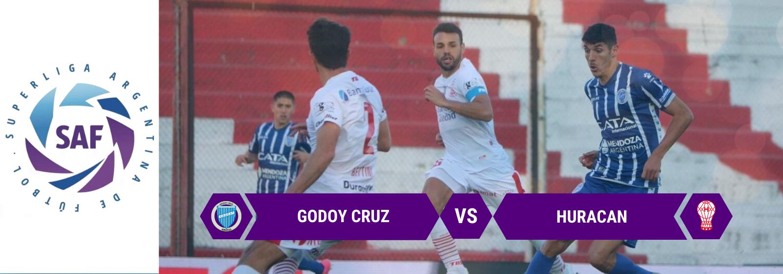 Asianconnect: Godoy Cruz vs Huracan Odds for February 10, 2020