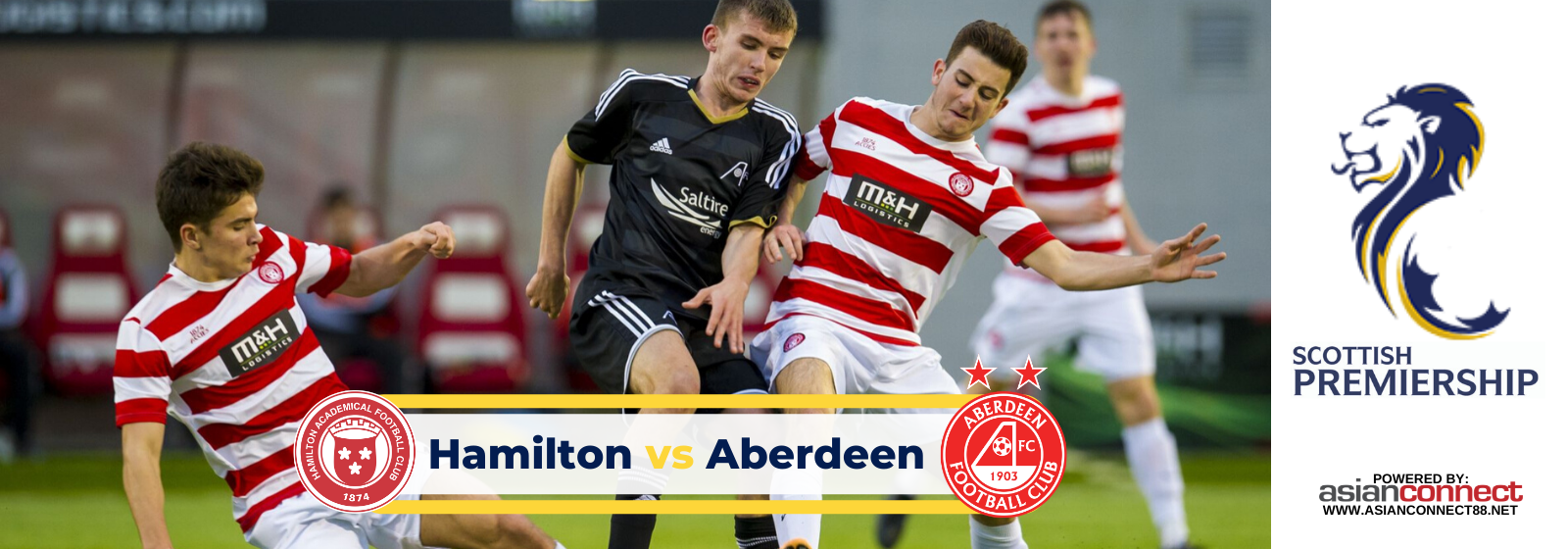 Asianconnect: Hamilton vs Aberdeen Odds for February 11, 2020