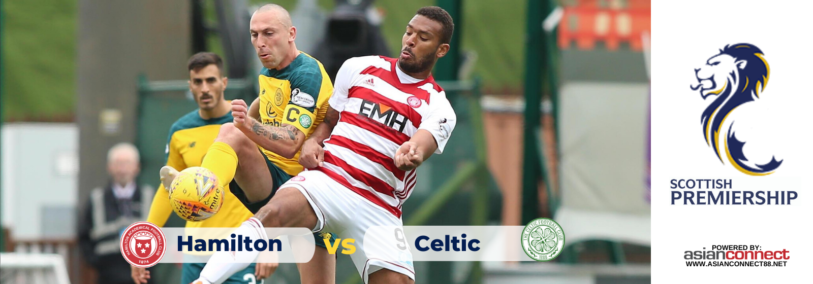 Asianconnect: Hamilton vs Celtic Odds for February 02, 2020