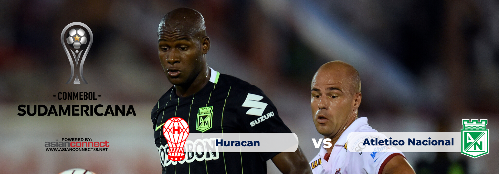 Asianconnect: Huracan (Argentina) vs Atletico Nacional (Colombia) Odds for February 19, 2020