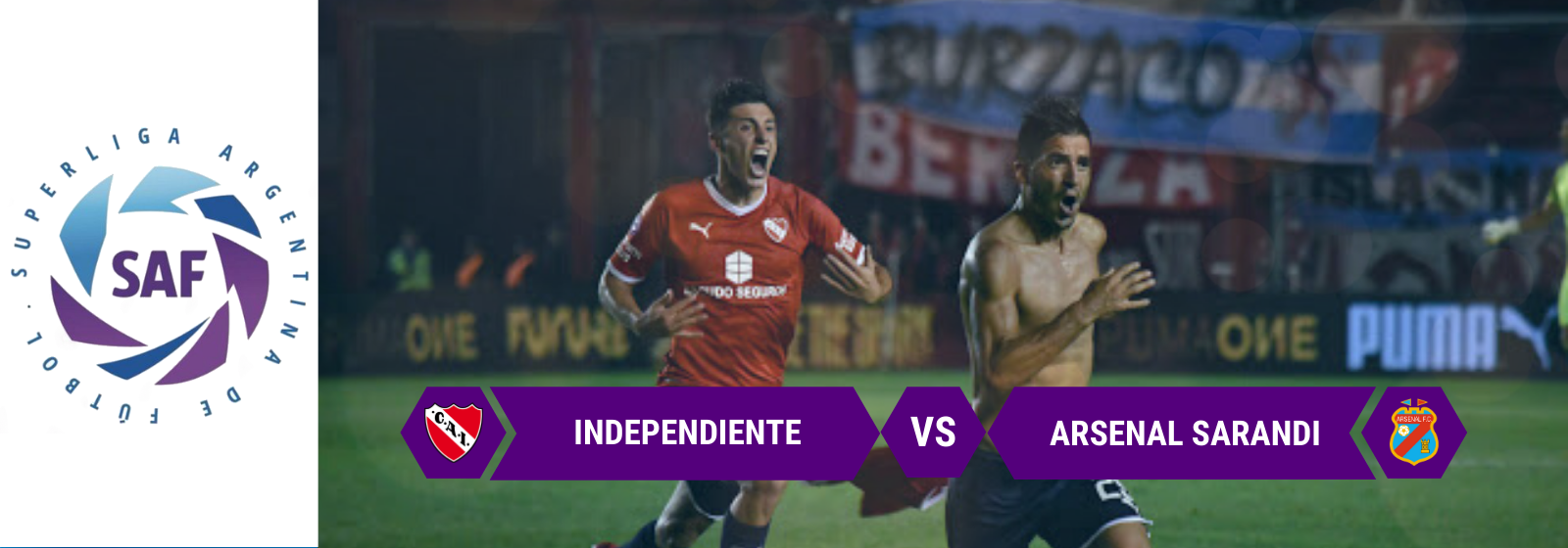 Asianconnect: Independiente vs Arsenal Odds for February 17, 2020