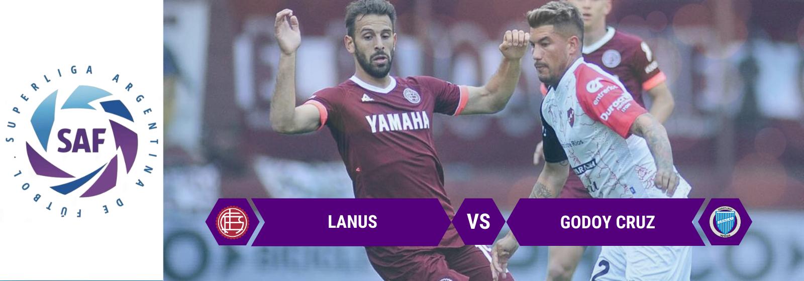 Asianconnect: Lanus vs Godoy Cruz Odds for February 02, 2020