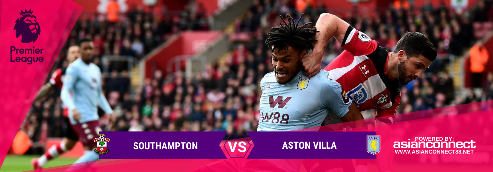 Asianodds: Southampton vs Aston Villa Odds for February 22, 2020